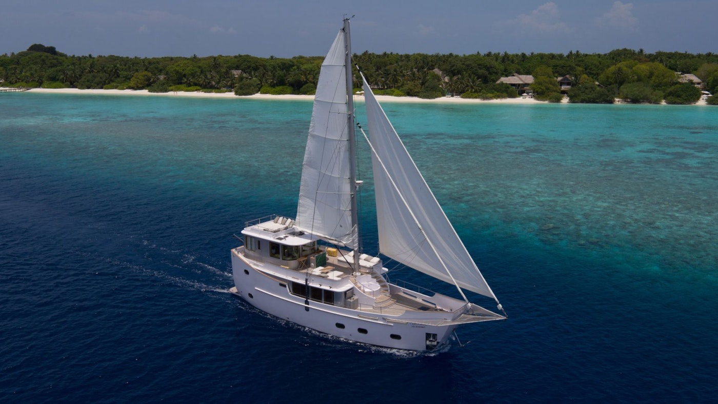 SONEVA IN AQUA NOW AVAILABLE FOR CHARTER WITH NORTHROP & JOHNSON