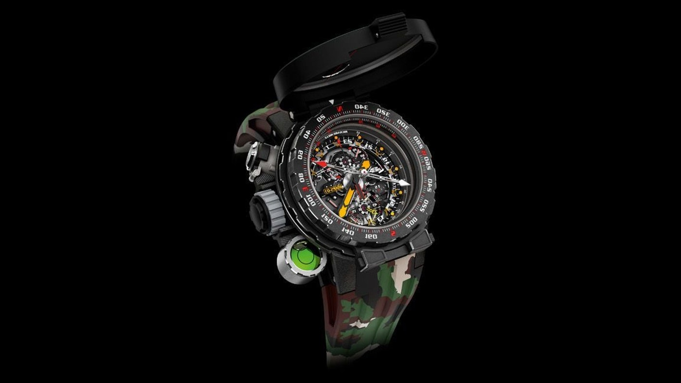 A TIMEPIECE FOR ADVENTURE