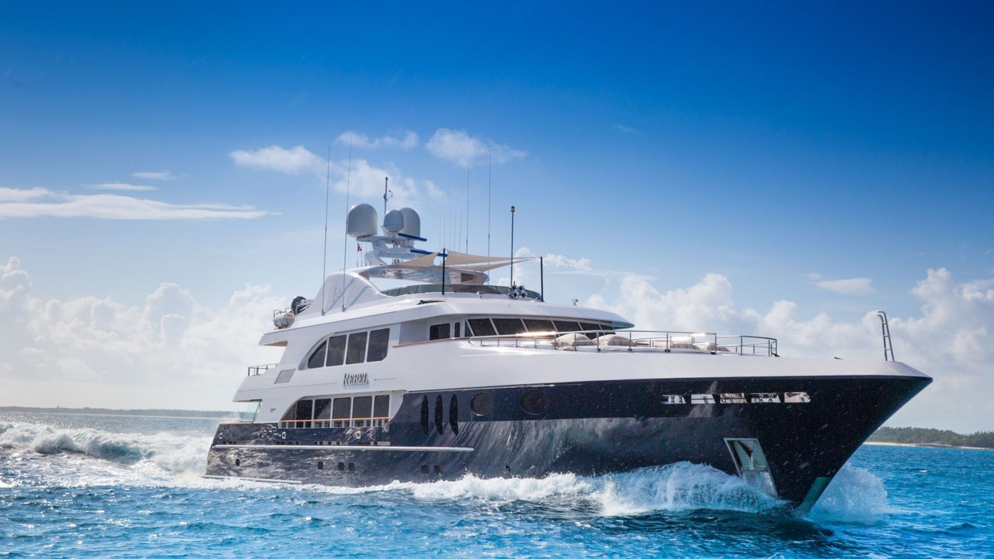 SUPERYACHT REBEL RECEIVES A PRICE REDUCTION