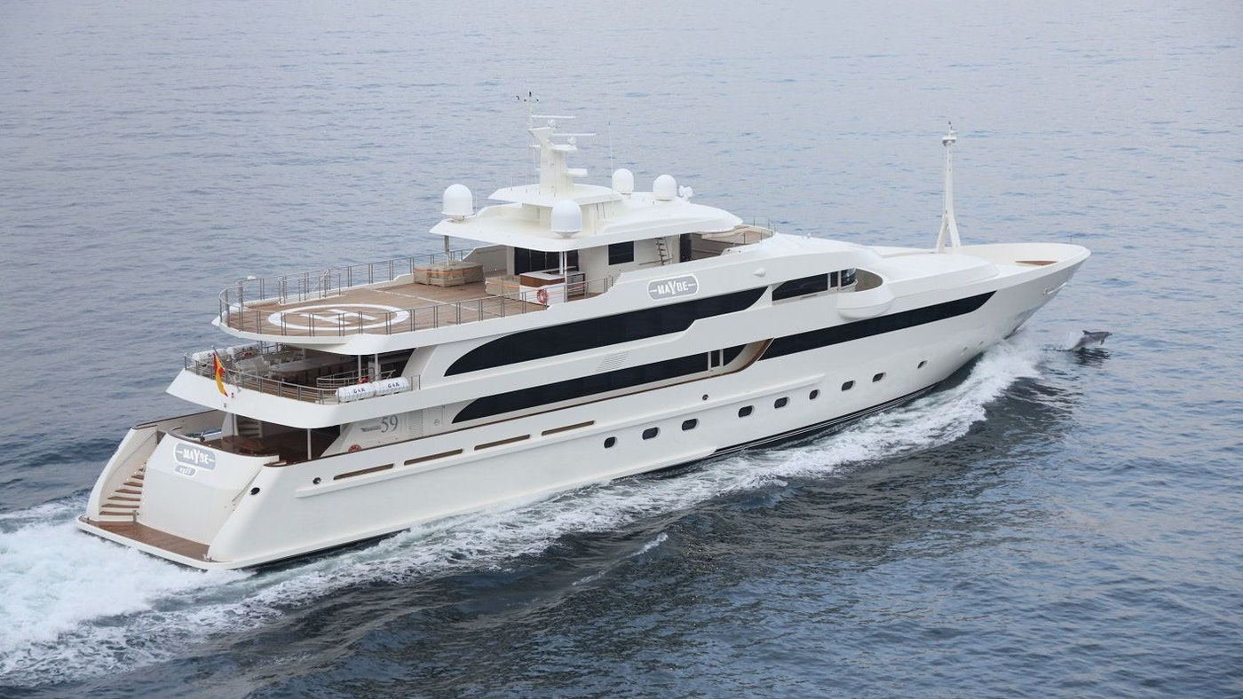 Superyacht MAYBE Receives Major Price Reduction