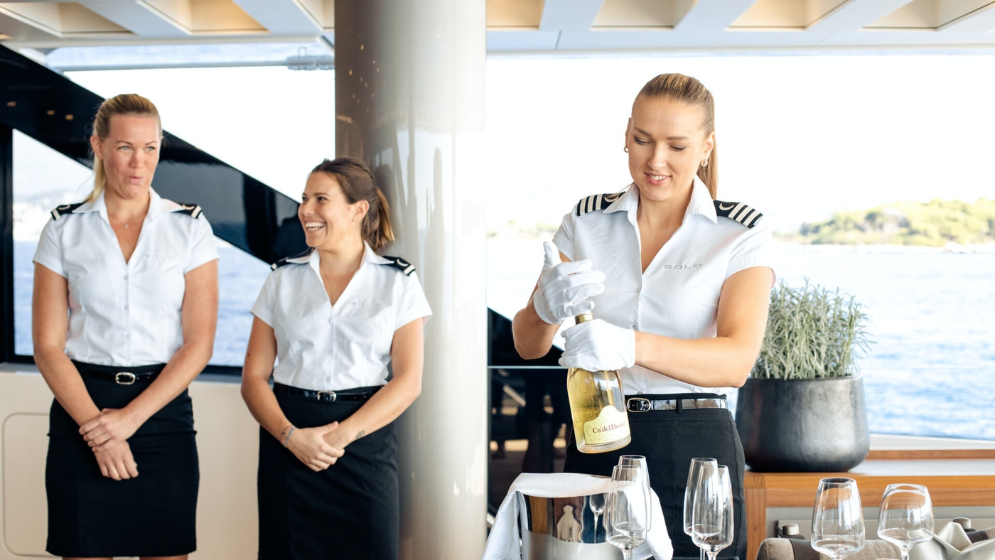 AN INTERVIEW WITH THE CHIEF STEWARDESS OF SOLO