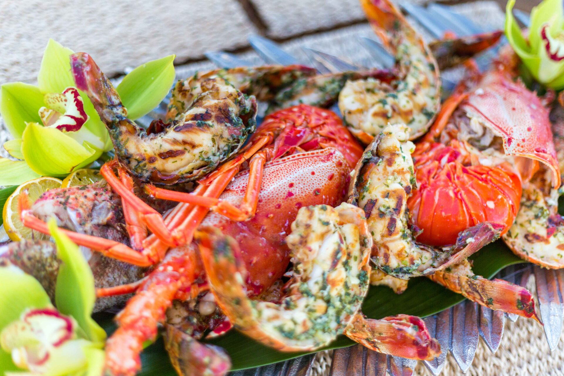 lobster and shrimp dish