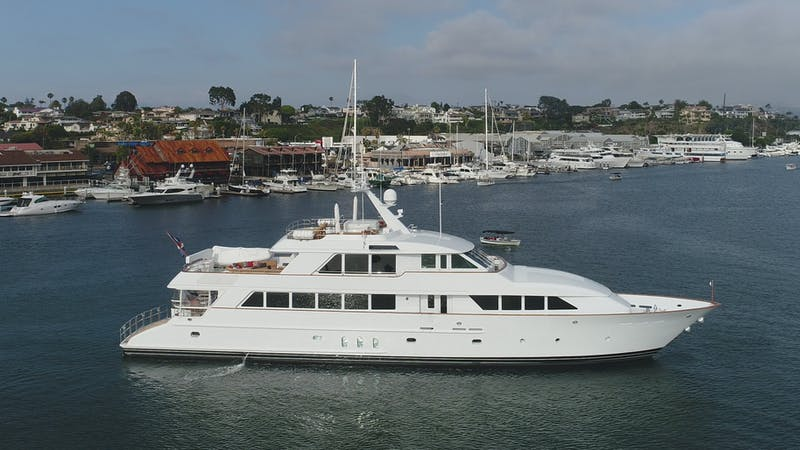 KIMBERLY 128' (39.01m) Palmer Johnson Yacht Sold In-House