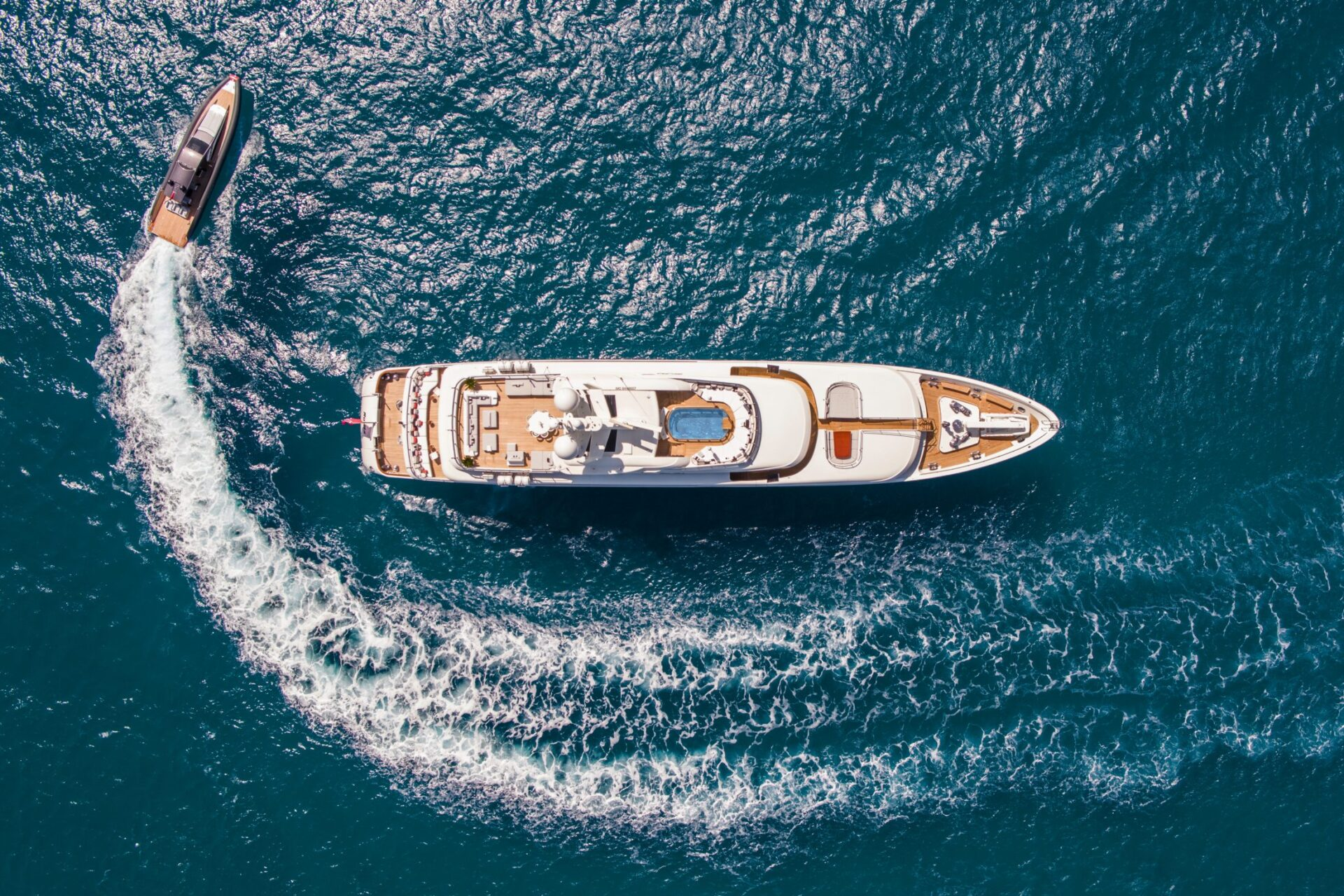 luxury superyacht charter M/Y Roma in Mallorca for media marketing