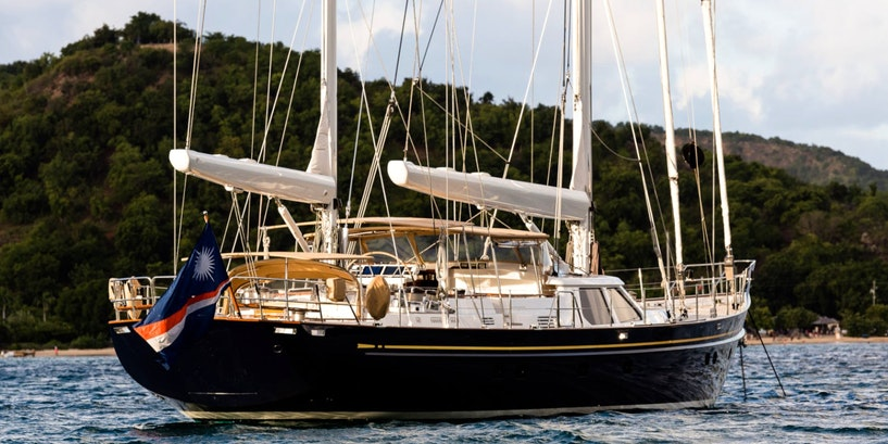 112′ (34.14m) Alloy Sailing Yacht BLUE TOO Sold
