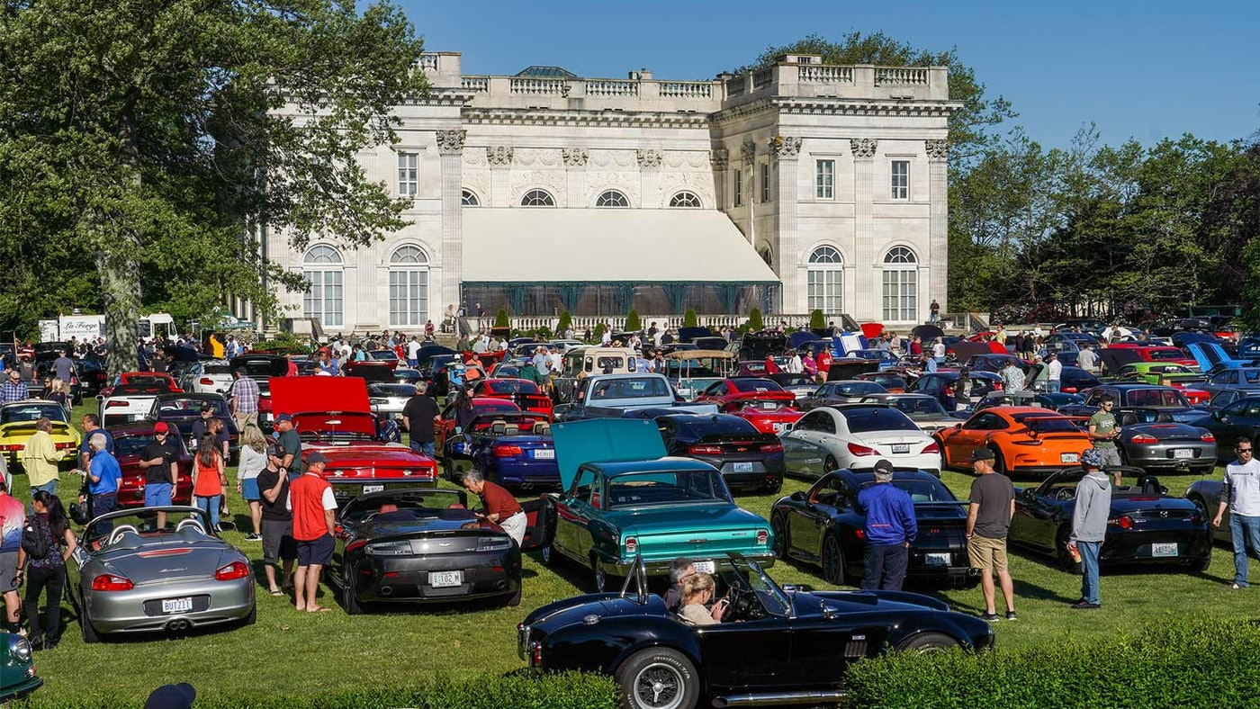 Classic Car Revival and Audrain's Newport Concours & Motor Week