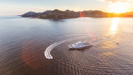 Caribbean Luxury superyacht charter with tenders and water toys around