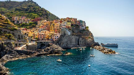 Cinque Terre Manorala Village from Italy yacht charter