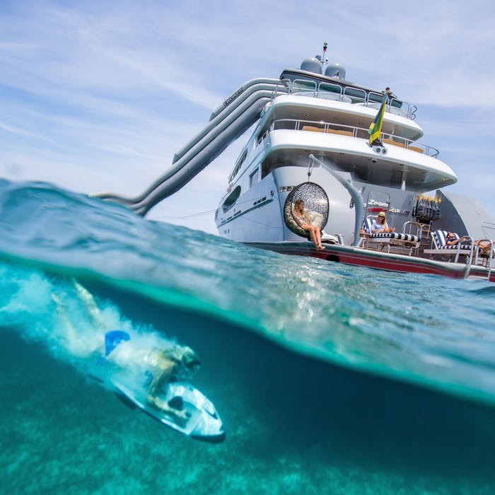 Top Charter Yachts with Toys
