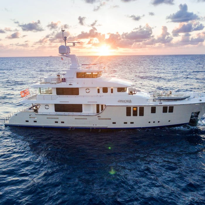 120' (36.75m) Nordhavn MY AURORA Sold by Northrop & Johnson