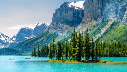 Pacific northwest coast of vancouver canada luxury yacht charters and mountain range