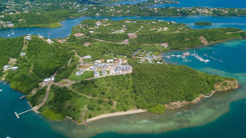 The Point — tropical luxury real estate in Grenada