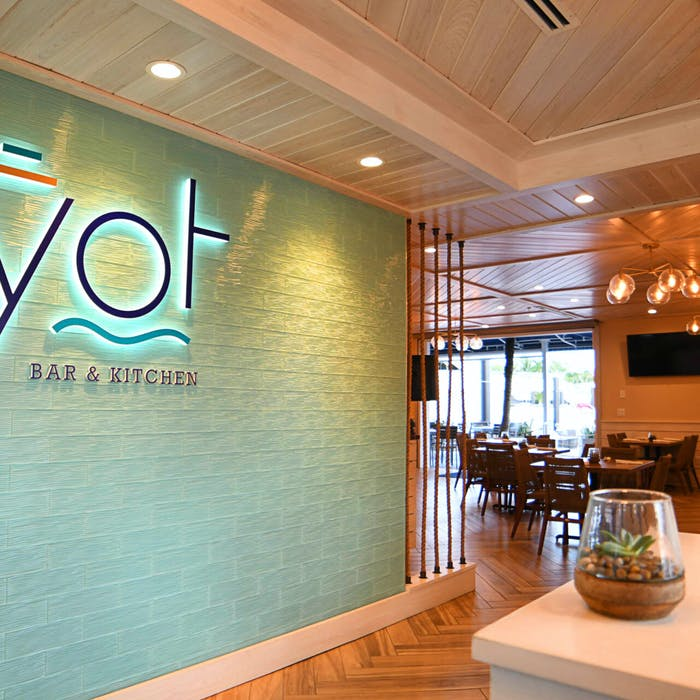 Dine waterside in Fort Lauderdale at YOT