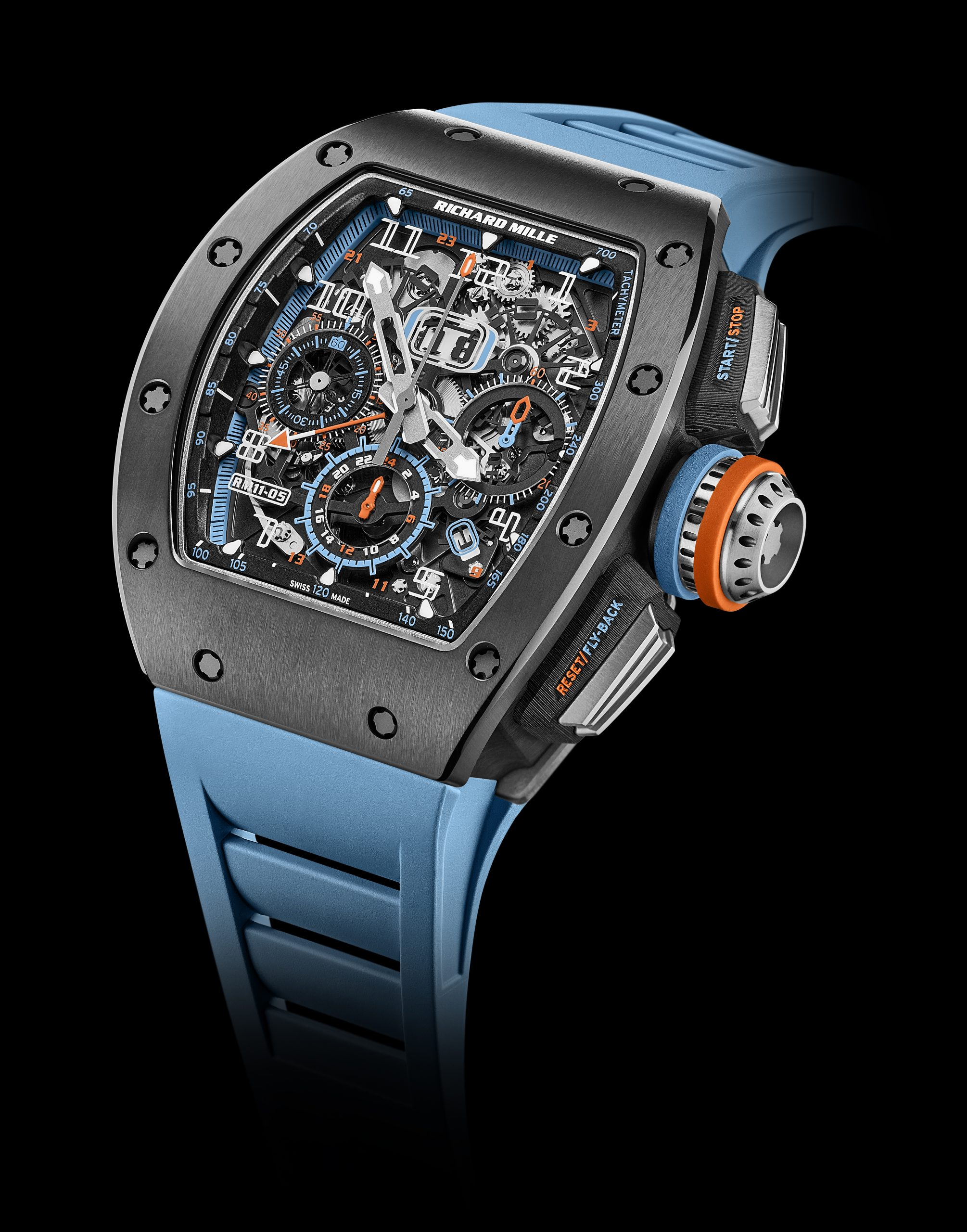 Richard Mille RM 11-05 Automatic Flyback Chronograph GMT timepiece front