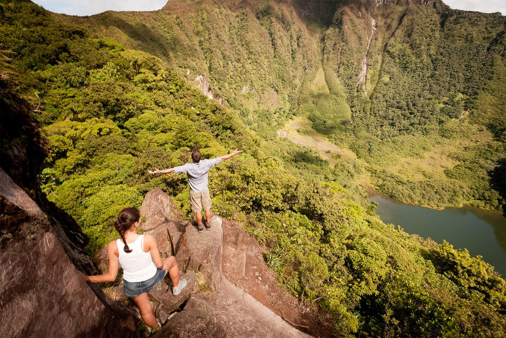 Take a hike to the summit of Mount Liamuiga, a dormant volcano