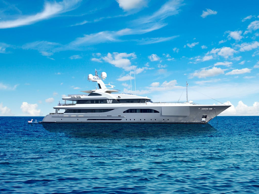Feadship superyacht W for charter
