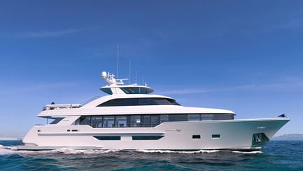 westport 117 yacht for sale with raise pilot house
