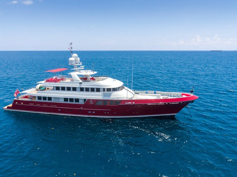 QING 150' (45.72m) Cheoy Lee Receives a Major Price Reduction