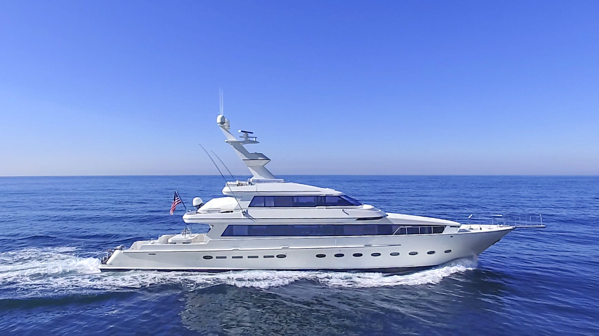 Yachtfisher for sale STEADFAST Running Profile
