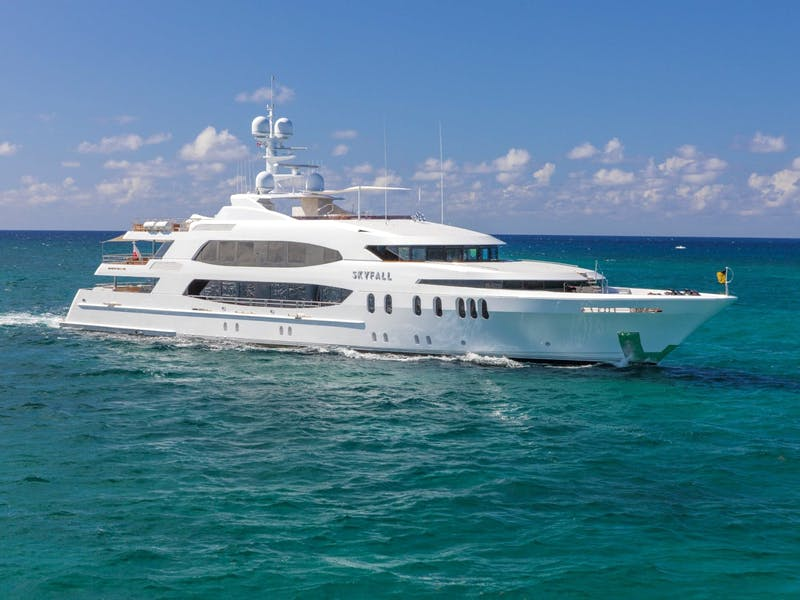 190' (57.91m) SKYFALL Now for Charter