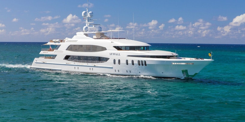 190′ (57.91m) SKYFALL Now for Charter