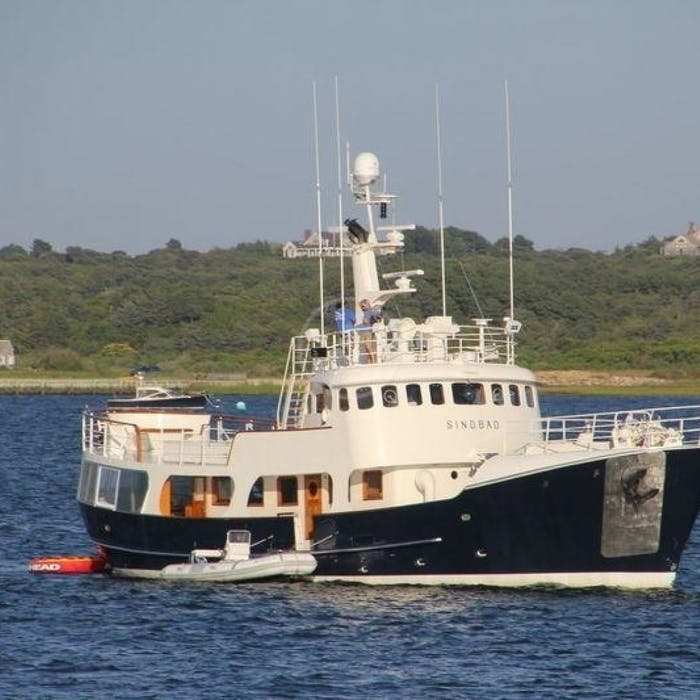 Expedition Yacht SINDBAD Now for Sale With Northrop & Johnson