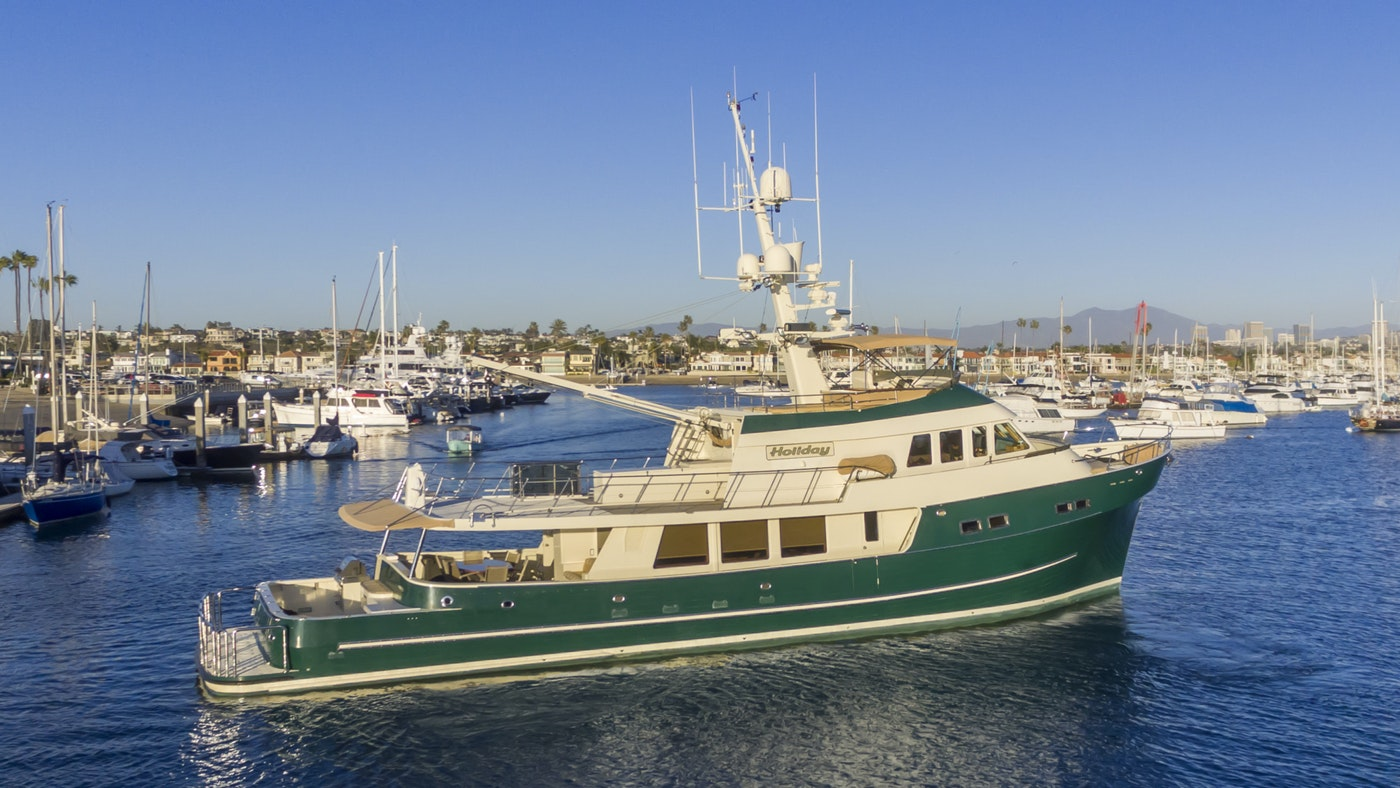 Explorer Yacht HOLIDAY Now for Sale with Northrop & Johnson