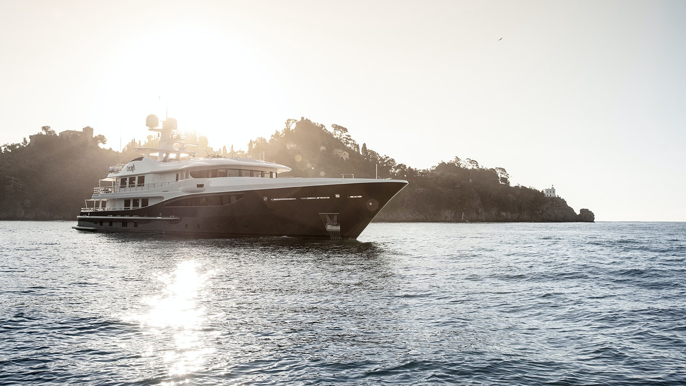 The 180-foot (55m) Amels  Superyacht REVELRY is Now Available for Charter with Northrop & Johnson