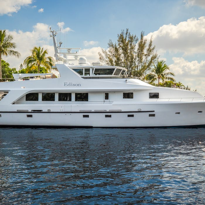 Motor Yacht EDISON Now For Sale with Northrop & Johnson