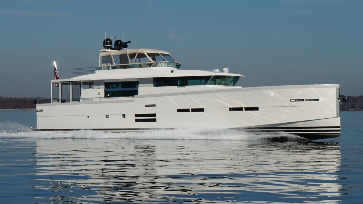 Delta Powerboats Motor Yacht SEABISCUIT Sold by Northrop & Johnson