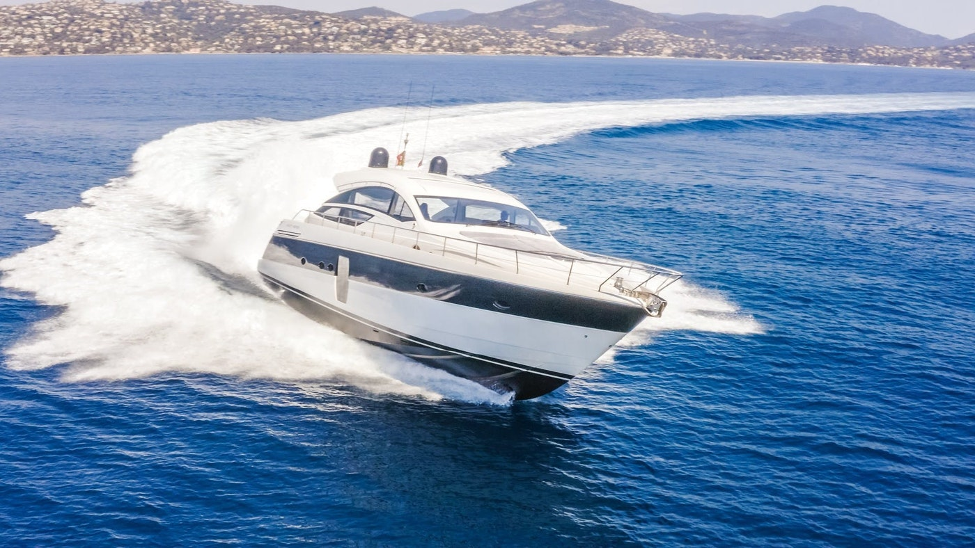 64-foot (19.51m) Pershing FIRST LADY Now for Sale