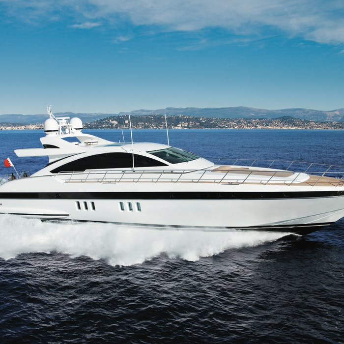 Mangusta luxury motor yacht MY TOY for sale with Northrop & Johnson