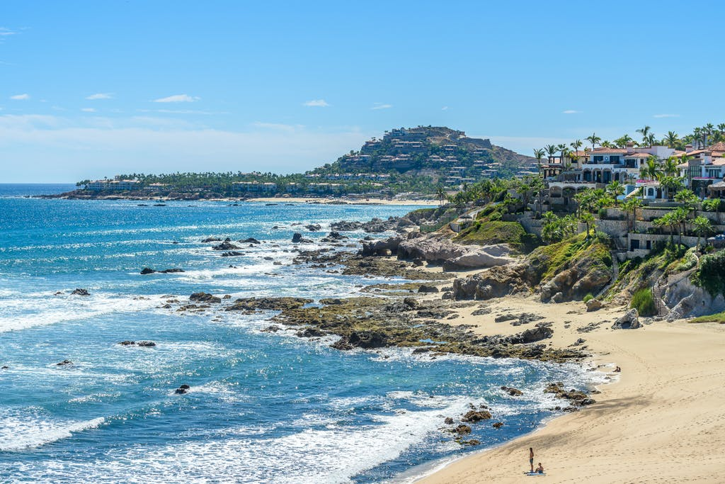 Mexico,Coastline,With,Beautiful,View,Over,Ocean,In,San,Jose