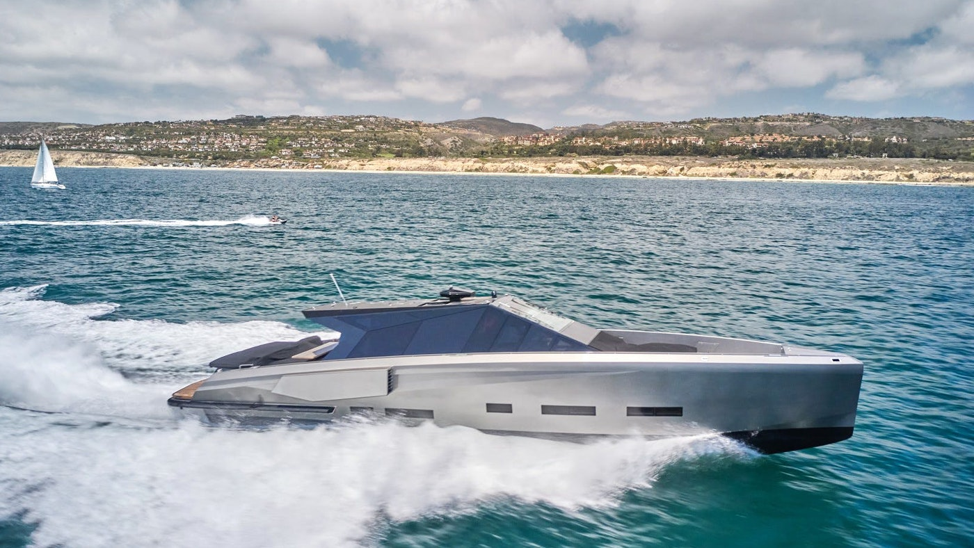73-foot (22.25m) Wally Motor Yacht AIFOS Now for Sale