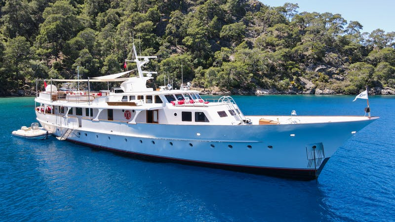 Feadship Yacht ALHAMBRA Now for Charter with Northrop & Johnson