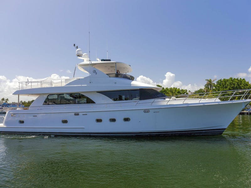 74-foot (22.56m) HATT TRICK Sold