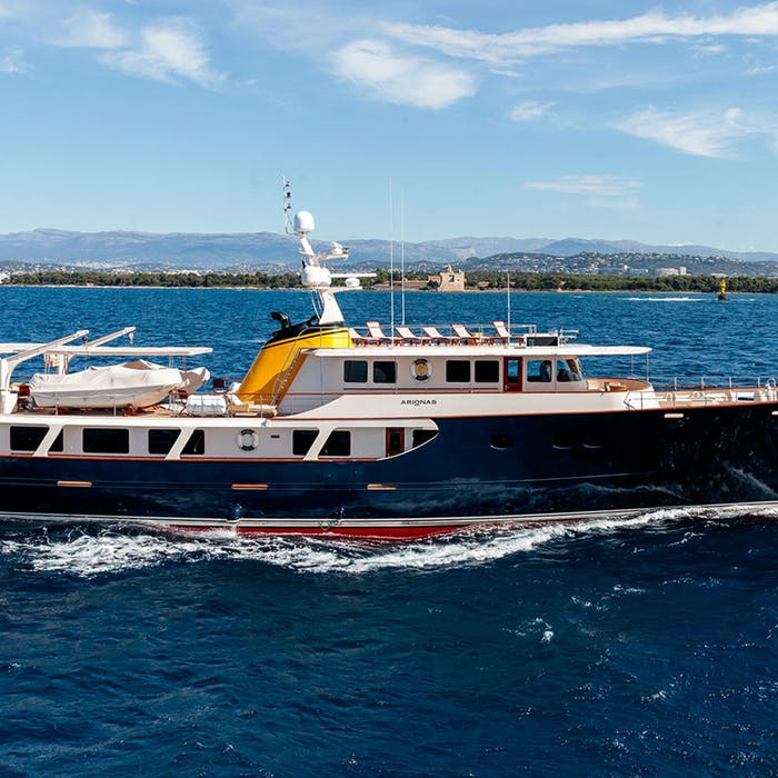 130-foot (39.7m) ARIONAS Now for Charter
