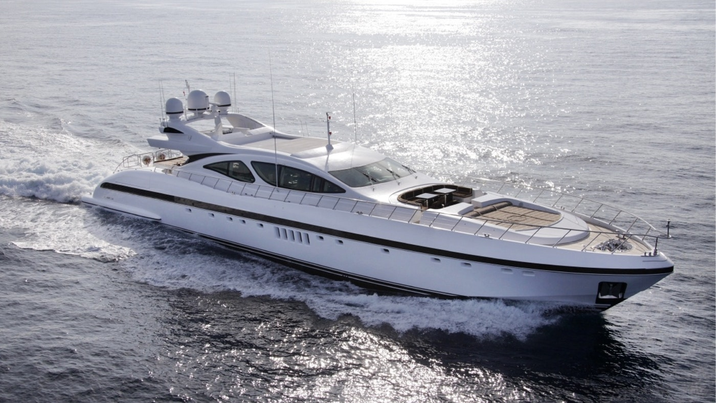 AFRICAN CAT 130′ (39.63m) Mangusta Now for Sale