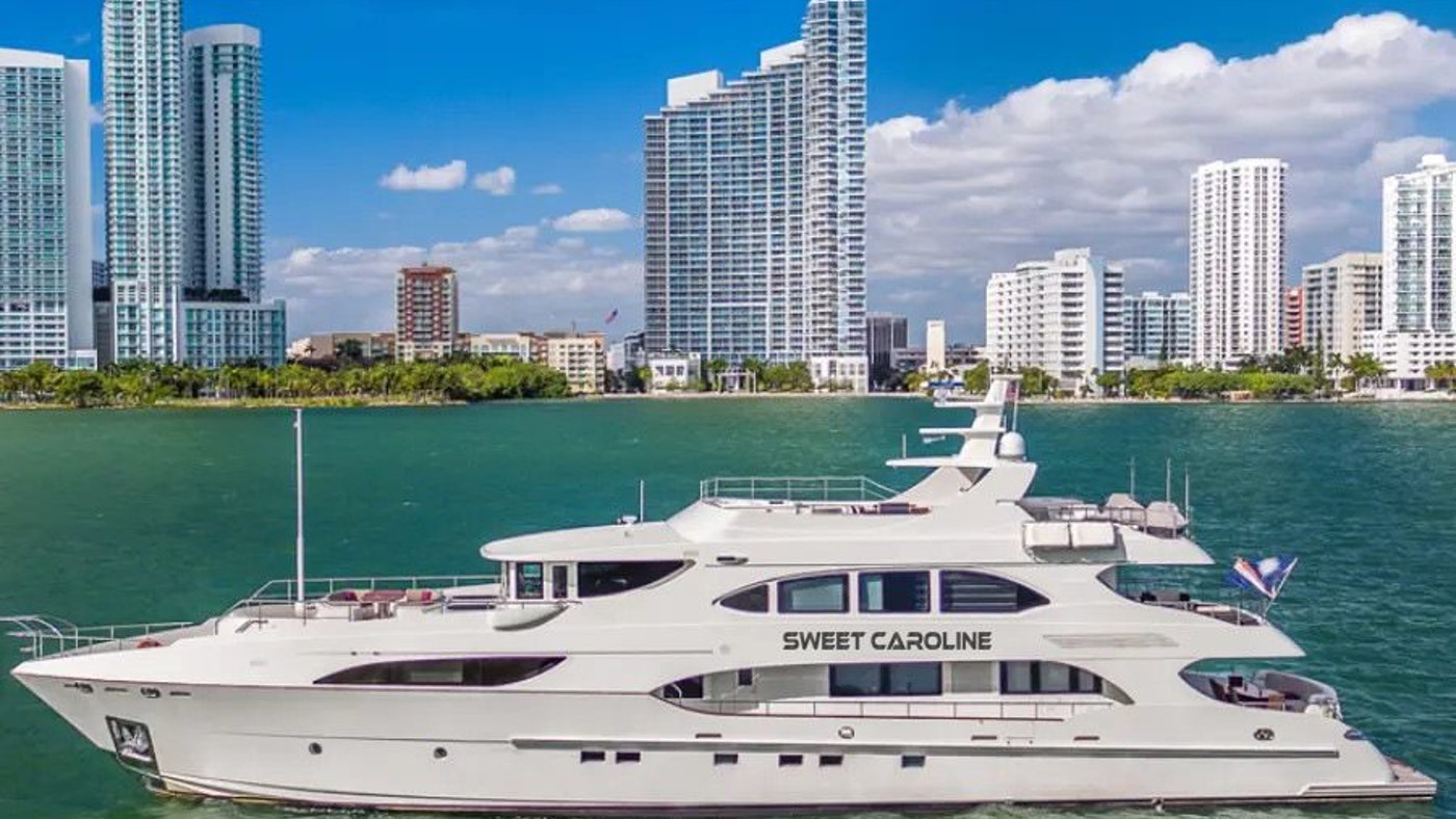 SWEET CAROLINE 127-foot (38.71m) IAG Yacht Now for Charter