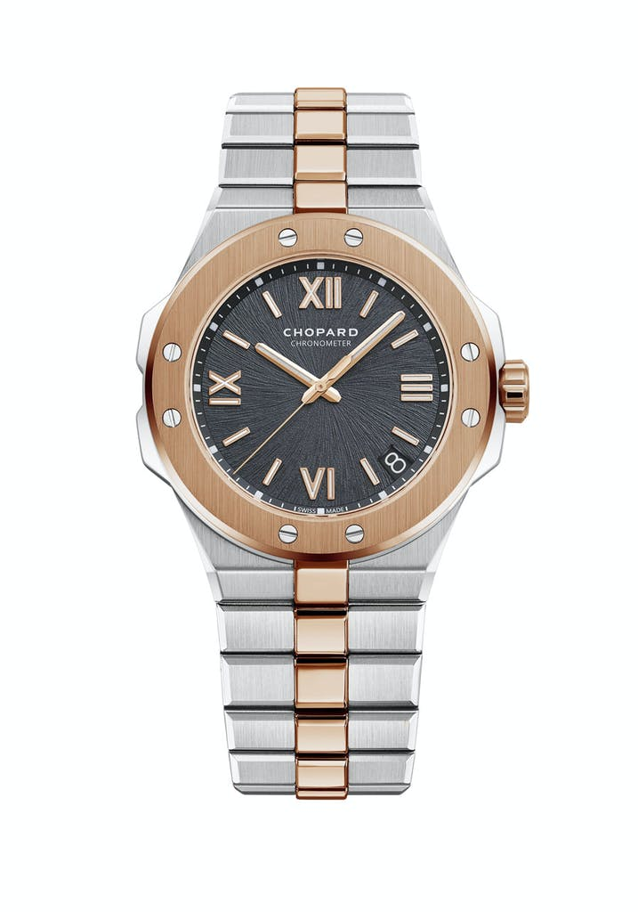 Chopard Alpine Eagle watch in gold and silver