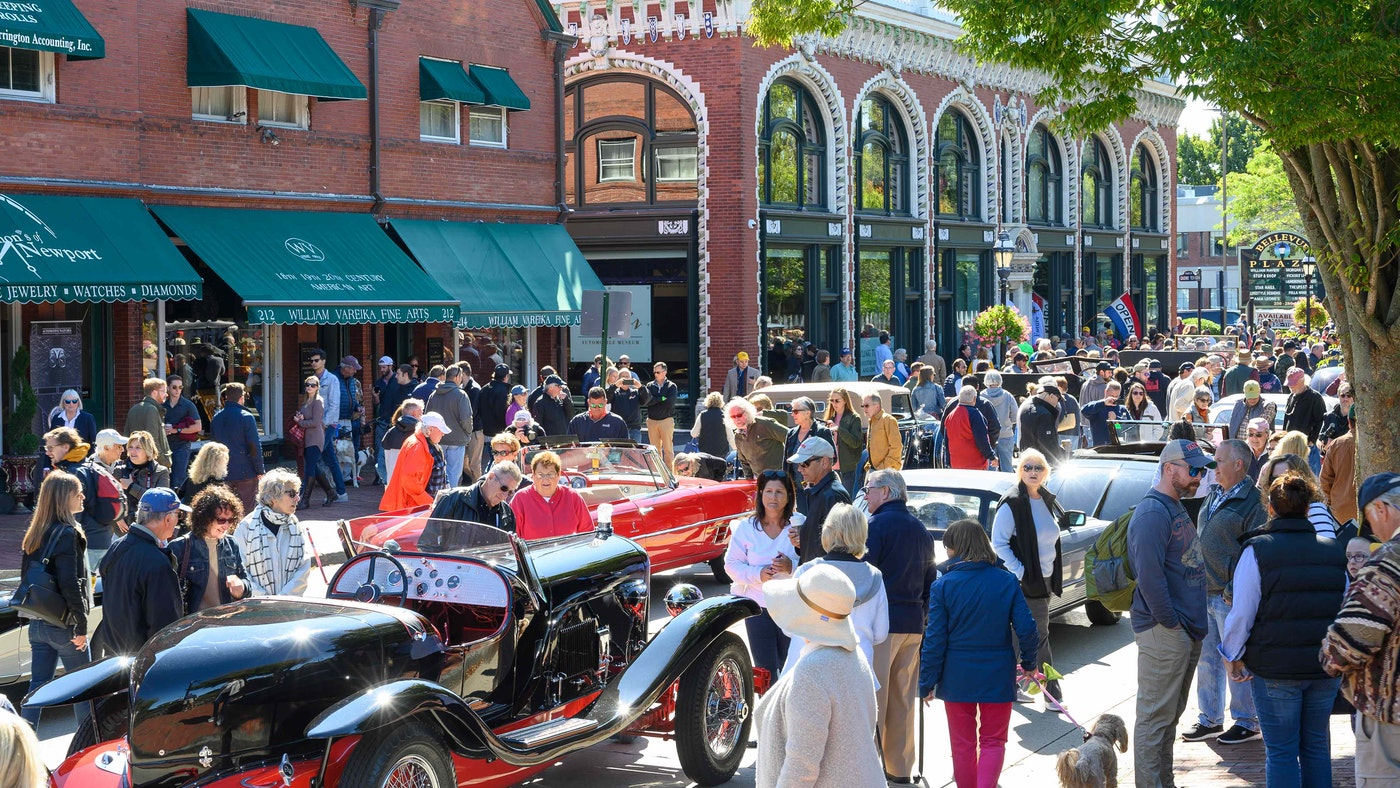 Newport's Hottest Fall Event — Audrain Newport Concours & Motor Week