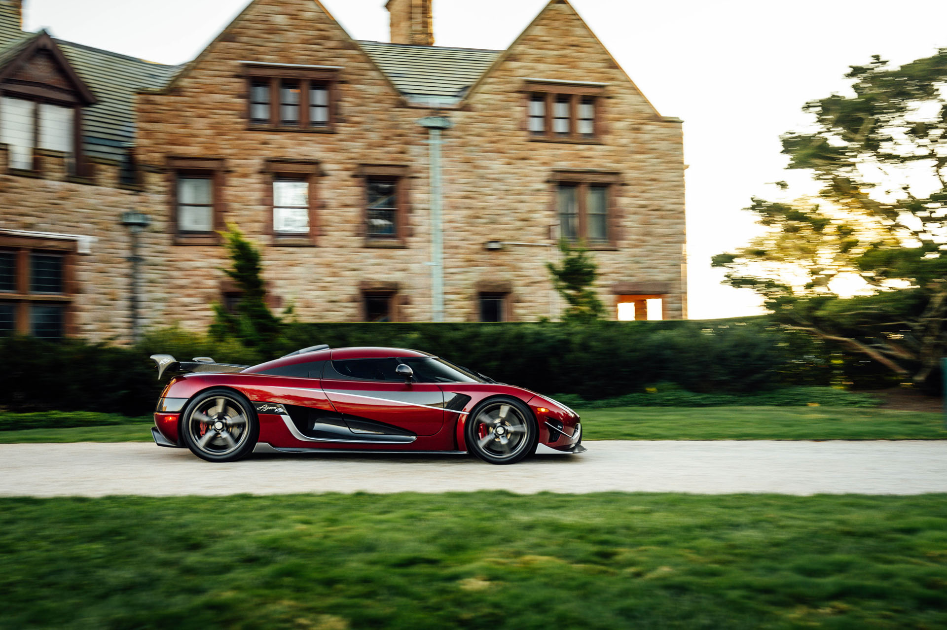 Sports car at Audrain's Newport Concours Motor Week