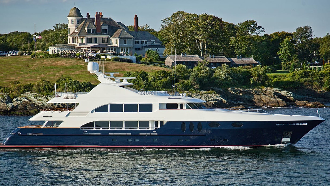 MIRABELLA 157′ (47.9m) Trinity Now for Charter