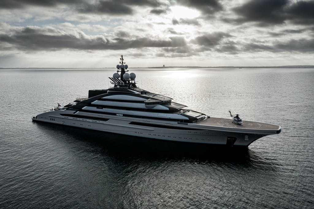 Built for global exploration, the 465ft (142m) NORD took her place in the top fifteen largest superyachts when she was delivered in early 2021