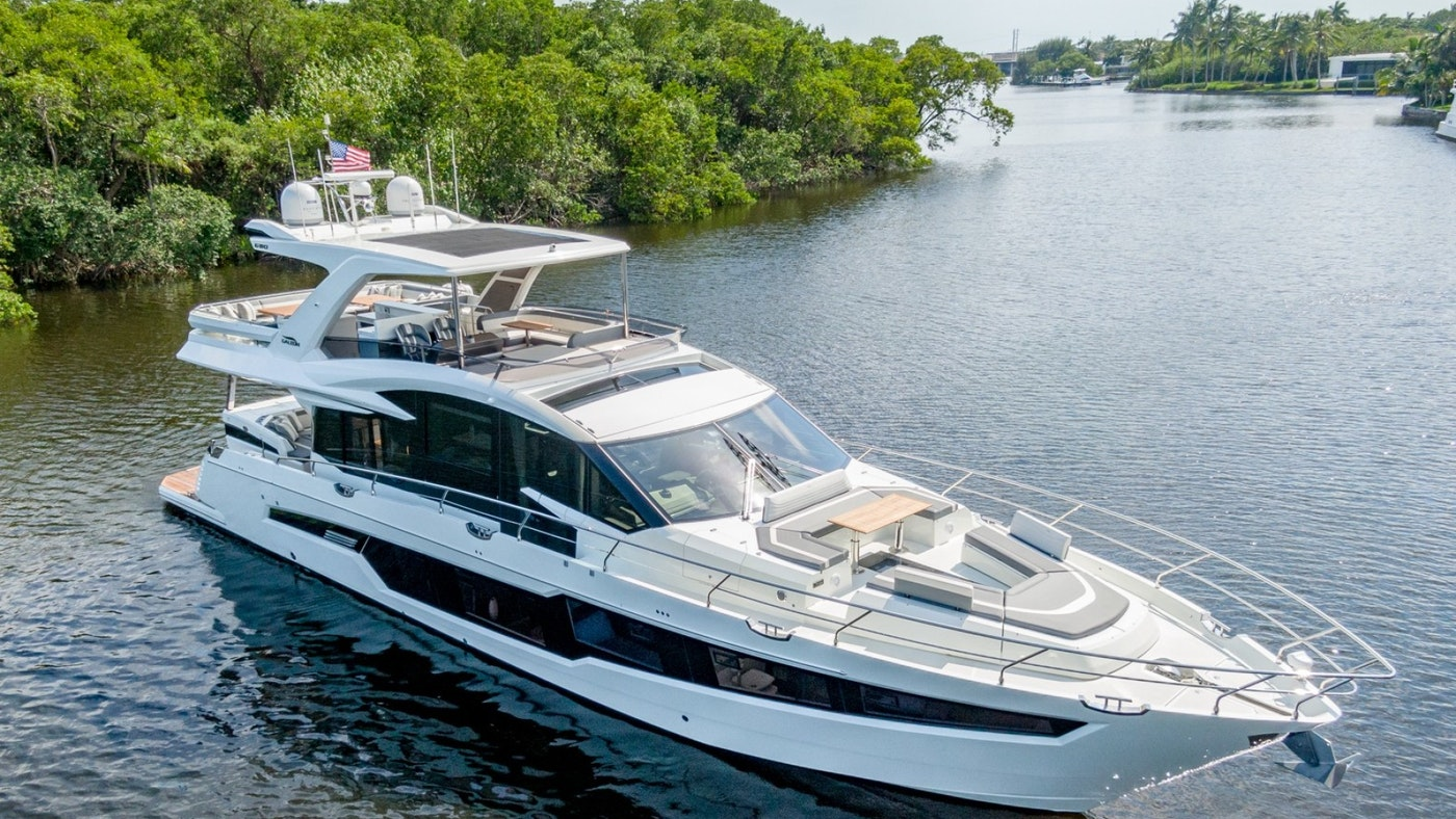 HANG TIME 72′ (21.95m) Galeon Yacht Sold
