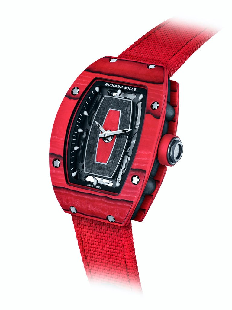Richard Mille rM07 red