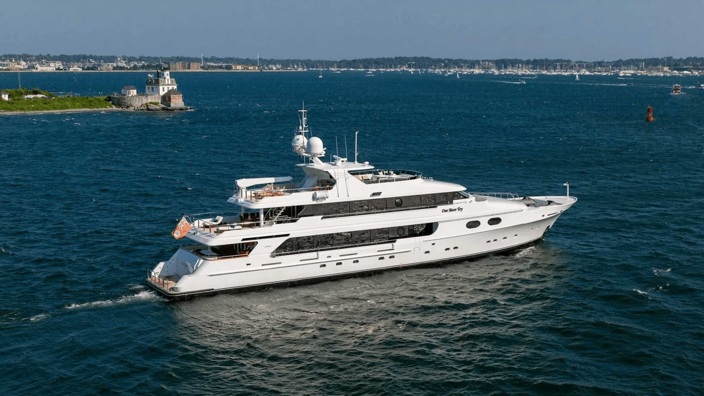 ONE MORE TOY 155′ (47m) Christensen Yacht Sold