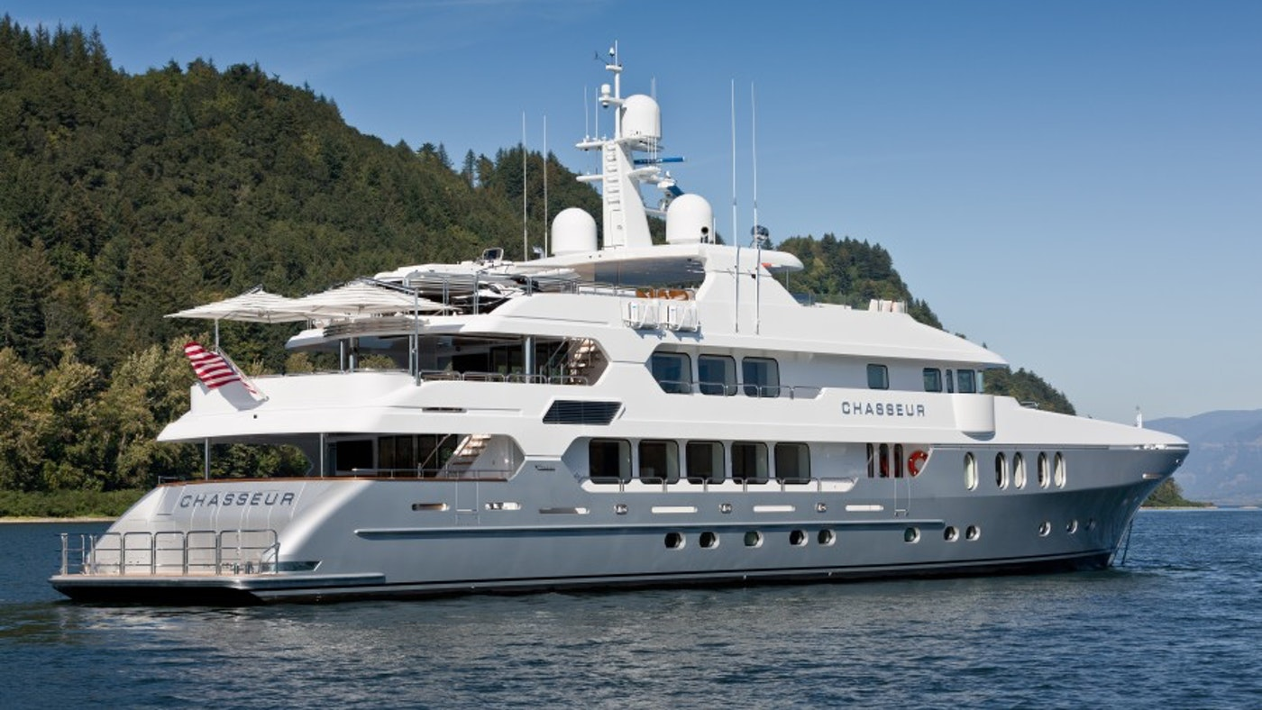 160′ (48.80m) Motor Yacht CHASSEUR Now For Sale