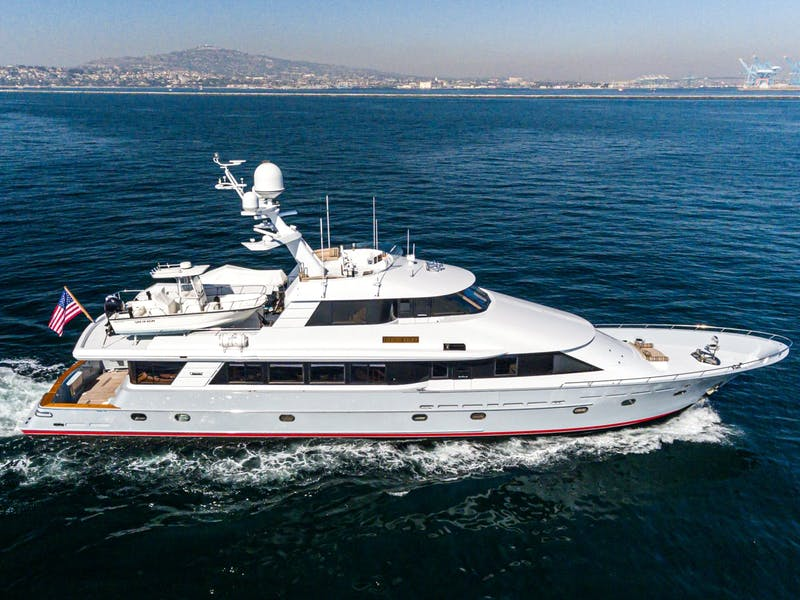 LIFE OF RILEY 115' (35.05m) Westport-Crescent Yacht Sold