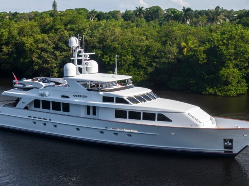 116' (35.38m) Motor Yacht PATRIOT Now For Sale